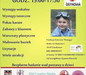 Event charytatywny w Galerii Ostrovia dla 8-letniego Szymona