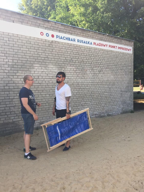 Leżaki Poznań Nasze Miasto nad Rusałką. Zrób sobie na nich zdjęcie!