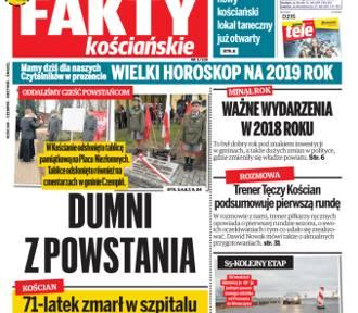 """Nowe """"Fakty Kościańskie"""" już w środę 2 stycznia ZAPOWIEDŹ"""