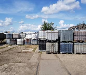 Niebezpieczne odpady usunięte z Przeróbki