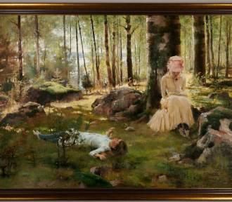 Odzyskano cenny obraz skradziony z pałacyku w Spale podczas II wojny światowej