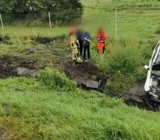 Na A4 pod Chrzanowem doszło do groźnego zderzenia dwóch pojazdów [ZDJĘCIA]