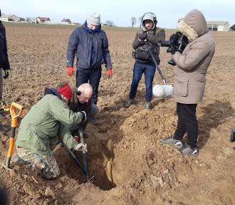 Szukali pod Kaliszem strąconych przez Wojsko Polskie samolotów Luftwaffe  ZDJĘCIA