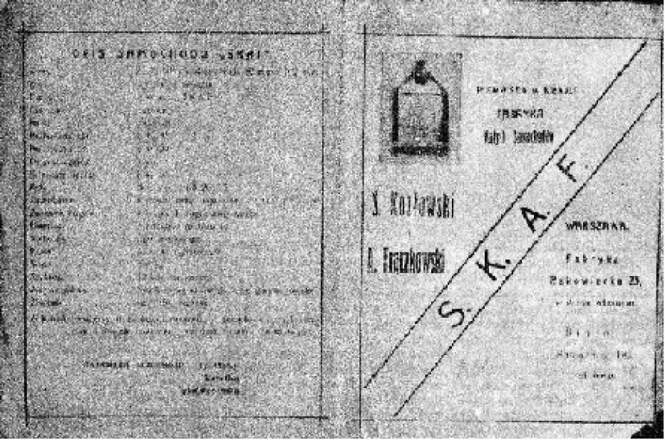 Warszatat Stefana Kozłowskiego i Antoniego Frączkowskiego, ul. Rakowiecka 23
