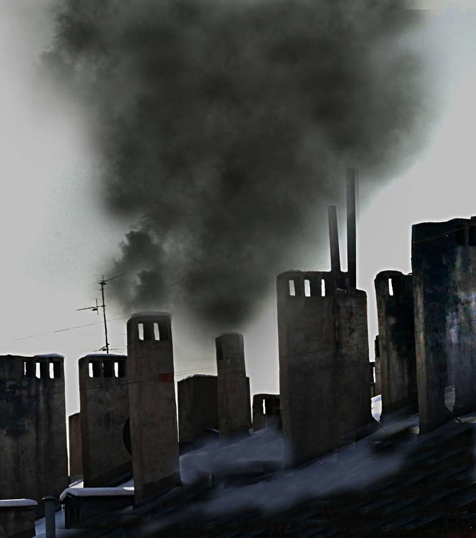 Smog powstaje m