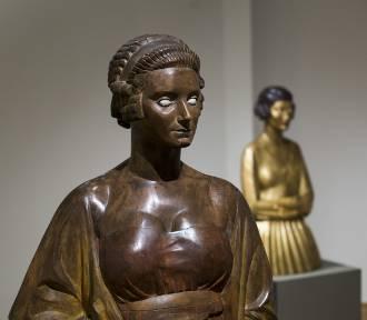 Wystawa rzeźb w Muzeum Okręgowym w Rzeszowie