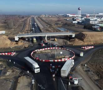 Budowa A1 Radomsko - Kamieńsk. Jak postępują prace? [NOWE ZDJĘCIA]