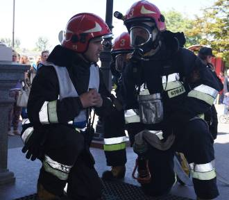 Ewakuacja dworca PKP. Z powodu pożaru [ZDJĘCIA Z ĆWICZEŃ]