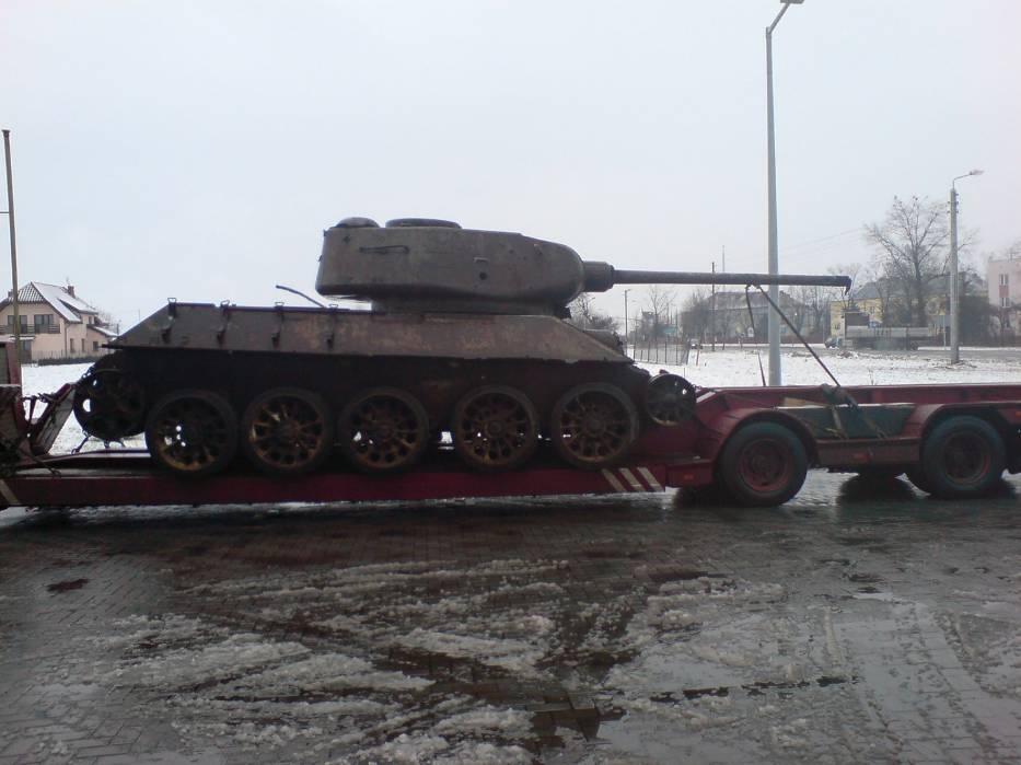 Czołg już odnaleziony przez policję