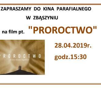 """""""PROROCTWO"""" - film dokumentalny już w niedzielę w kinie parafialnym"""
