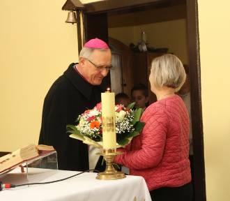 Wizyta biskupa w Górznej