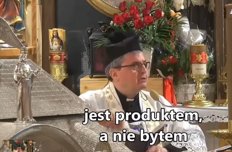 Piotr Natanek w Wielkanoc przemawiał do swoich wyznawców