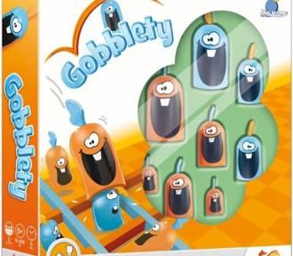 Gobblety - rodzinna gra w  kółko i krzyżyk. Do kwadratu