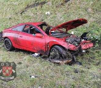 Wypadek na płatnym odcinku A4. Cztery osoby ciężko ranne