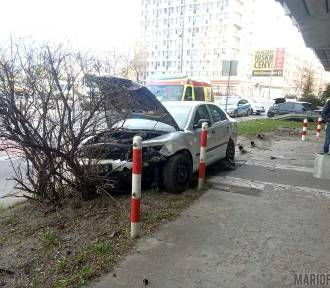 Wypadek w centrum Opola. Zderzyły skoda i bmw