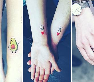 Najlepsze tatuaże dla par [ZDJĘCIA]