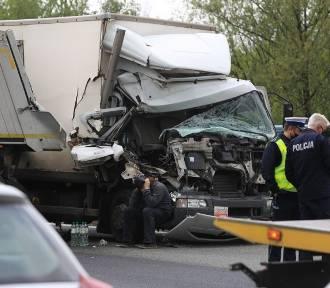 Wypadek na S86 w Katowicach. Droga była zablokowana