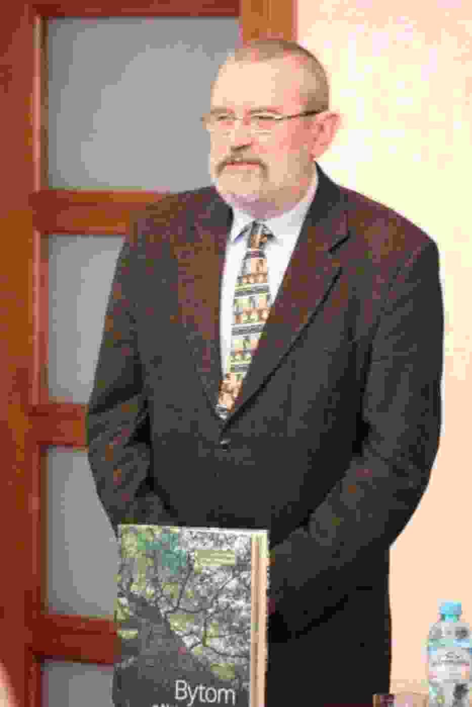 Edward Wieczorek współautor przyrodniczej publikacji