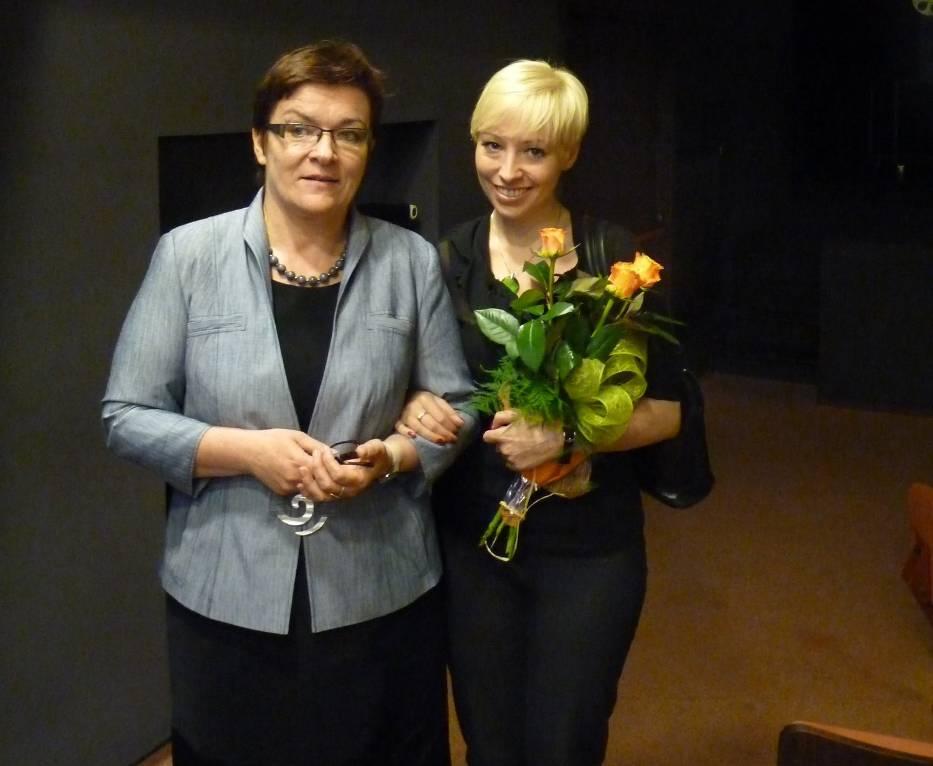 W sali widowiskowej Miejskiego Domu Kultury odbyło się spotkanie z Magdaleną Piekorz