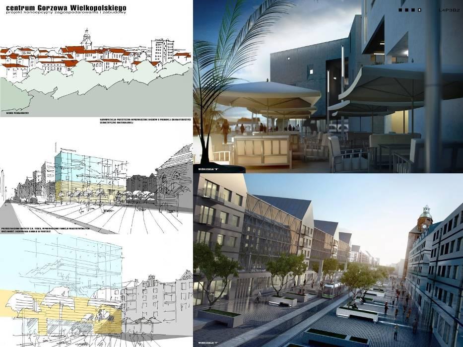 Fachowcy, czyli architekci i urbaniści 10 lat temu stworzyli futurystyczne wizje centrum
