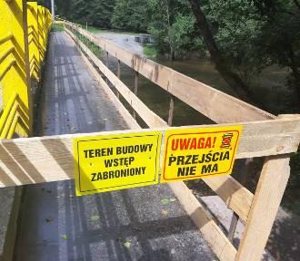 Remont mostu na drodze wojewódzkiej nr 218 w Wejherowie. Będą spore utrudnienia [ZDJĘCIA]