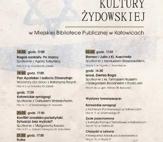 III Tydzień Kultury Żydowskiej w Katowicach PROGRAM