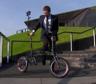 To prawdopodobnie najmniejszy składany rower świata. Zaprojektowali go Ślązacy!