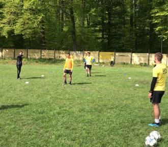 Piłkarze Gryfa Wejherowo wrócili do grupowych treningów  ZDJĘCIA