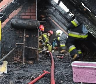 10 osób bez dachu nad głową po pożarze w Okopach pod Łambinowicami