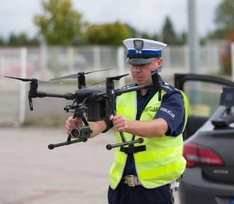 Słupska policja z dronami polowała na kierowców łamiących przepisy [ZDJĘCIA]