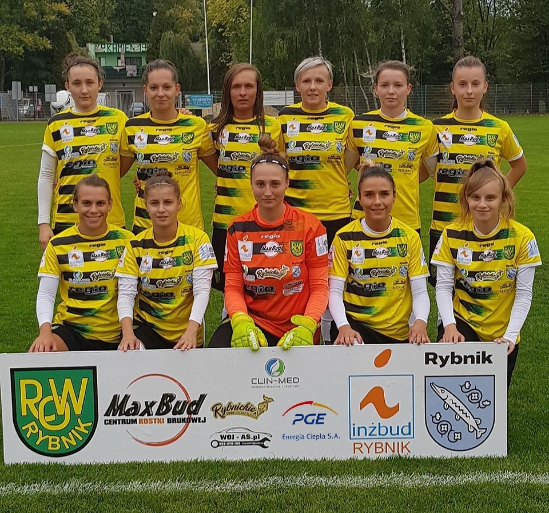 Piłkarki TS ROW Rybnik w sezonie 2019/2020 wywalczyły awans do Ekstraligi