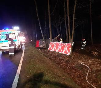 Cztery osoby zginęły w wypadku na drodze Węgliniec-Czerwona Woda [ZDJĘCIA]