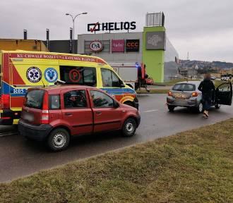 Wypadek w Przemyślu. Dziecko trafiło do szpitala [ZDJĘCIA]