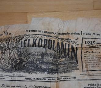 ZOBACZ gazetę sprzed 80 lat znalezioną w Nowym Tomyślu! [ZDJĘCIA]