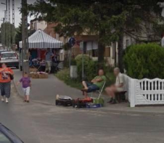 Mieszkańcy powiatu konińskiego złapani przez Google Street View
