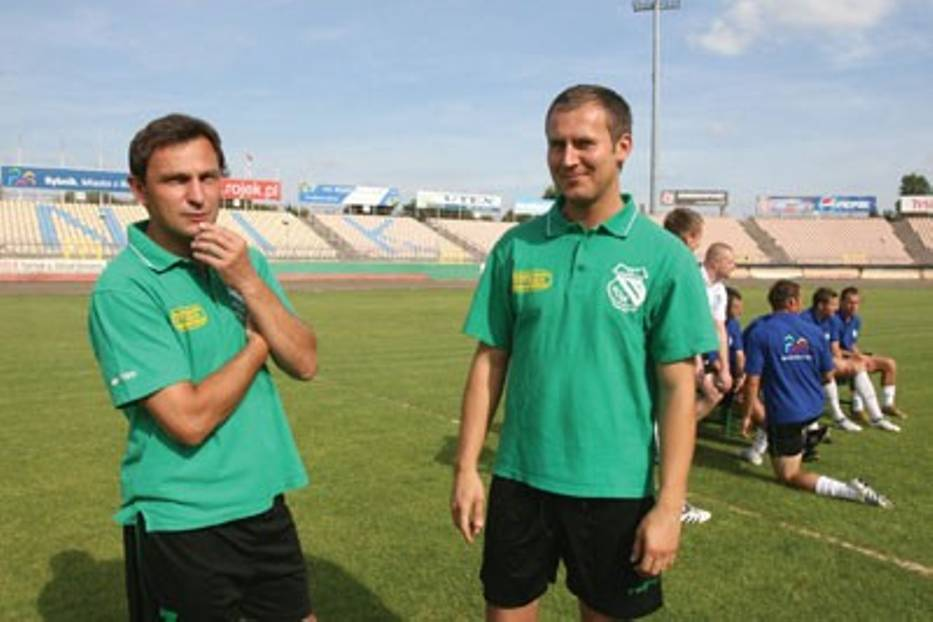 Najbliższe spotkania zweryfikują nasz potencjał - mówi Dariusz Widawski, trener Energetyka ROW Rybnik (z lewej)