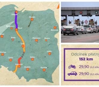 Ile kosztują autostrady w Polsce 2018. CENA za przejazd A1, A2, A4 [MAPA]