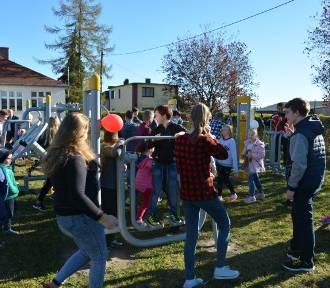 Otwarte Strefy Aktywności powstały w gminie Łęczyca [ZDJĘCIA!]