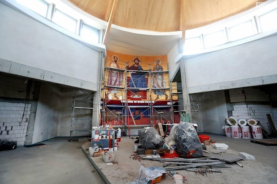 W budowanym kościele pw