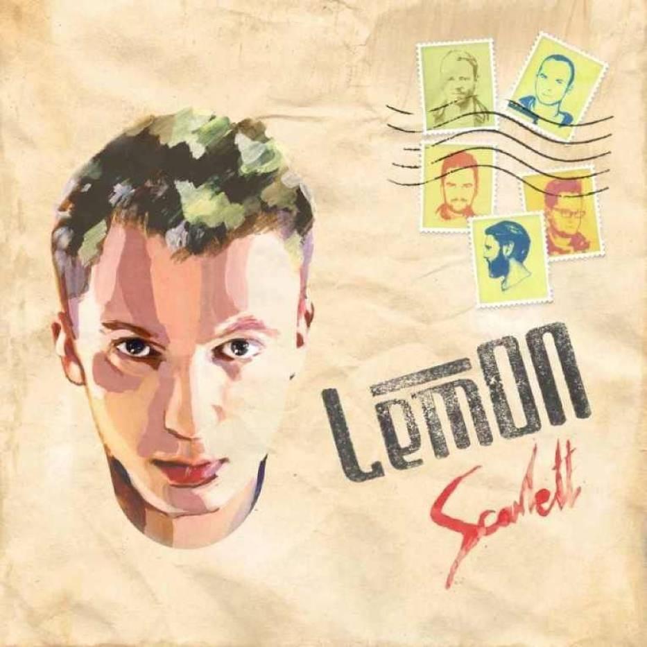 Okładka płyty Scarlett zespołu LemOn