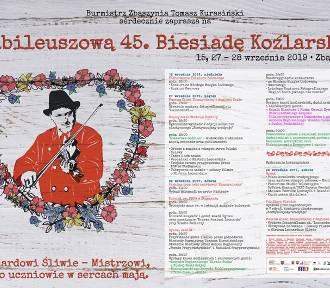 Program jubileuszowej 45. Biesiady Koźlarskiej