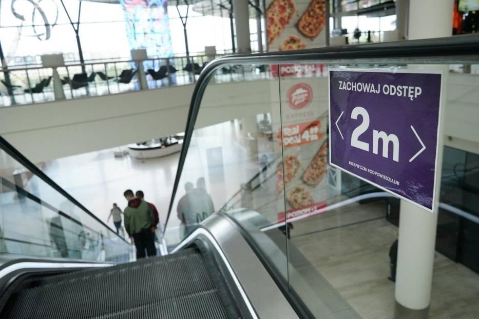 Galerie handlowe od 4 maja działają na nowych zasadach