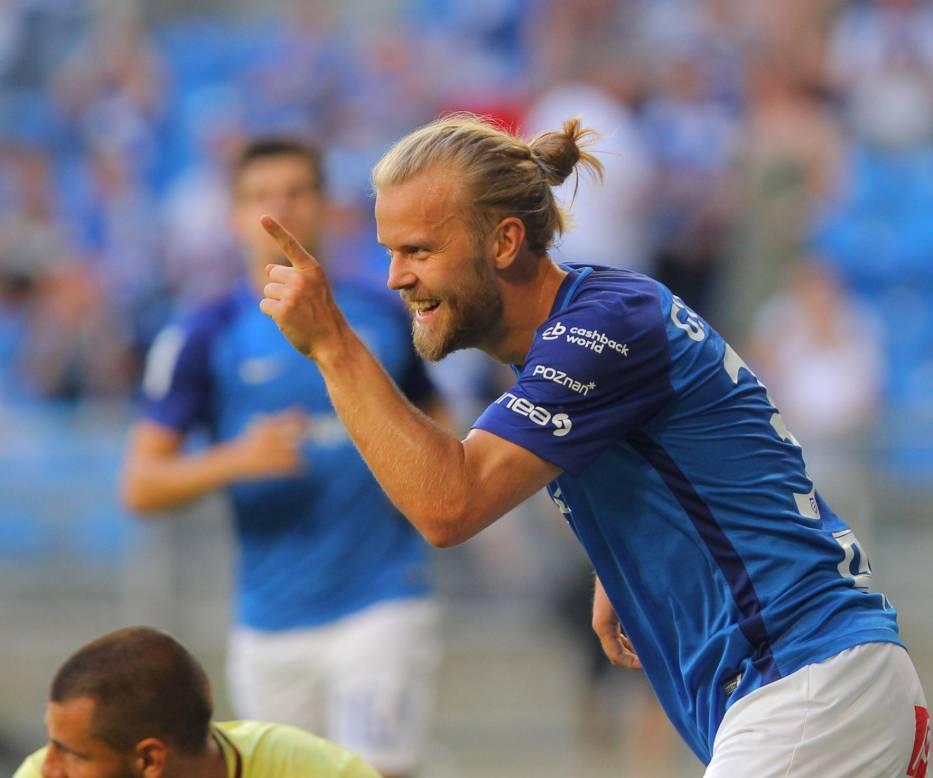 Christian Gytkjaer w meczu z Piastem zdobył dwa gole