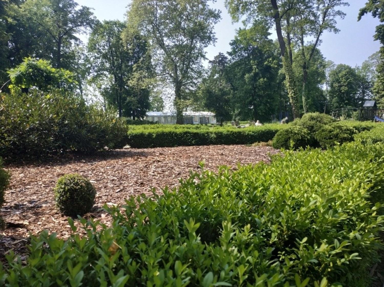 Pałac otacza rozległy park