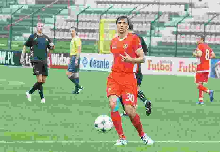 Jarosław Bieniuk zagrał w drużynie ME