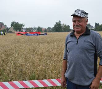 Katastrofa śmigłowca w Domecku pod Opolem. Relacja świadka [WIDEO, ZDJĘCIA]