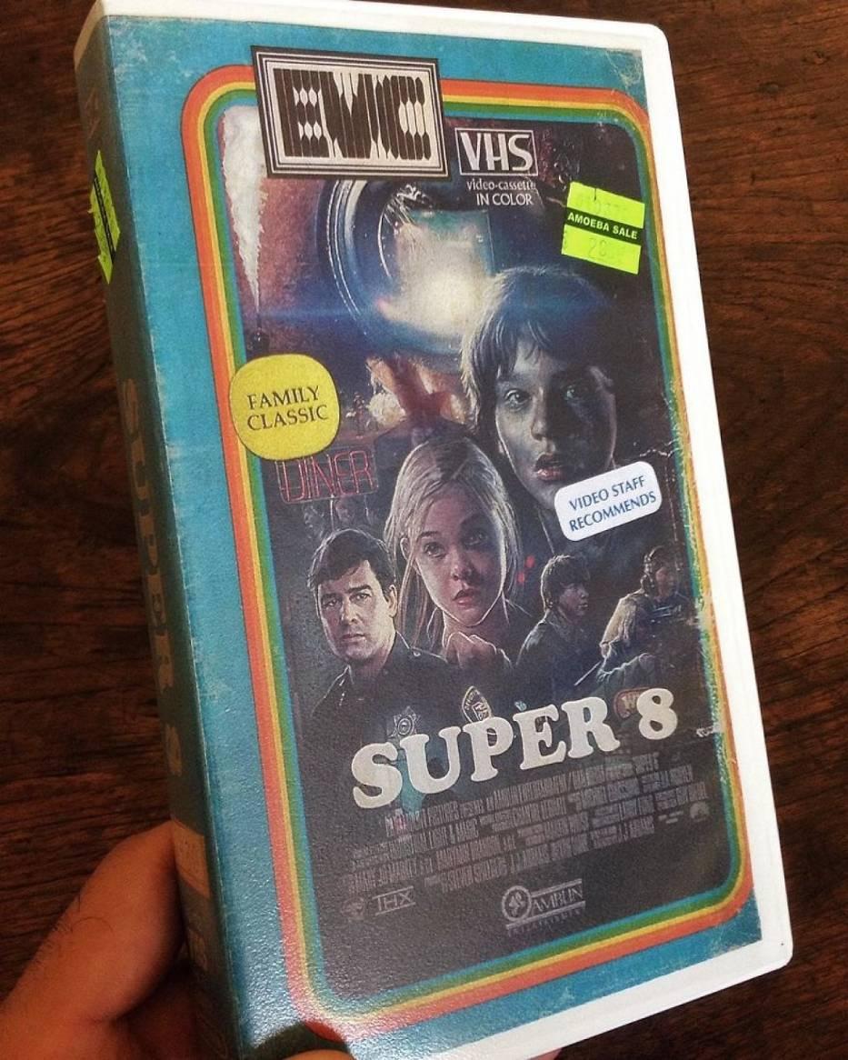 Grafik tworzy własne okładki VHS do nowych filmów i seriali. Efekt? Sami zobaczcie! [GALERIA]