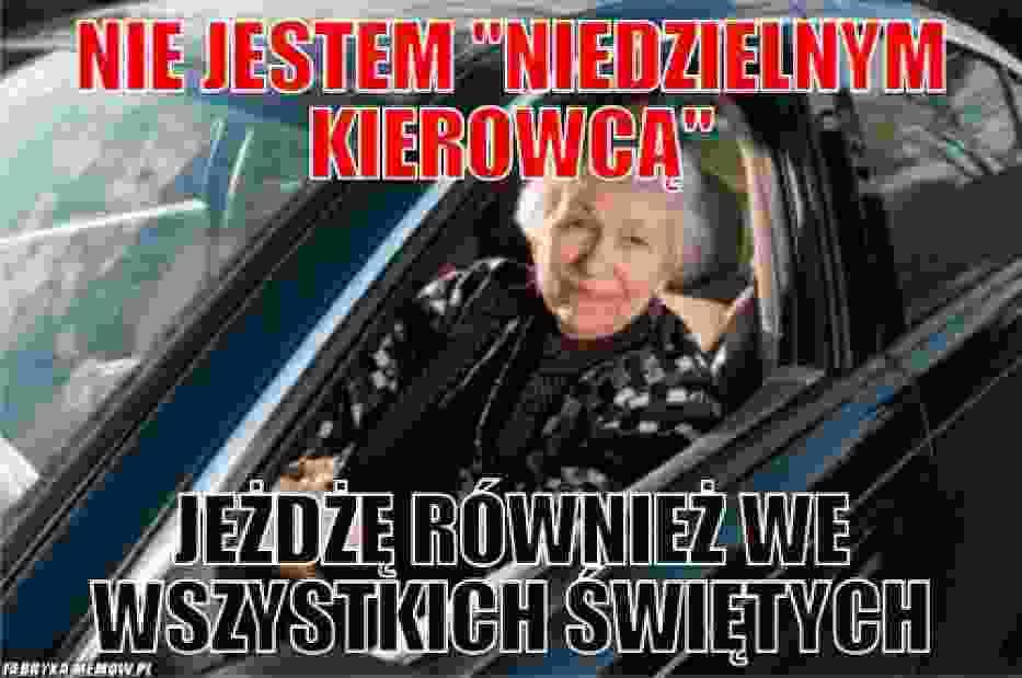 Memy na Dzień Kierowcy