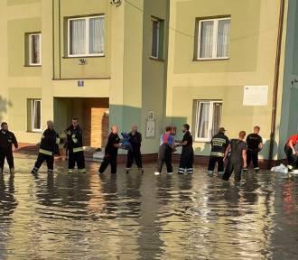 Bilans po ulewach w powiecie krośnieńskim. Podtopionych zostało 280 domów [ZDJĘCIA]