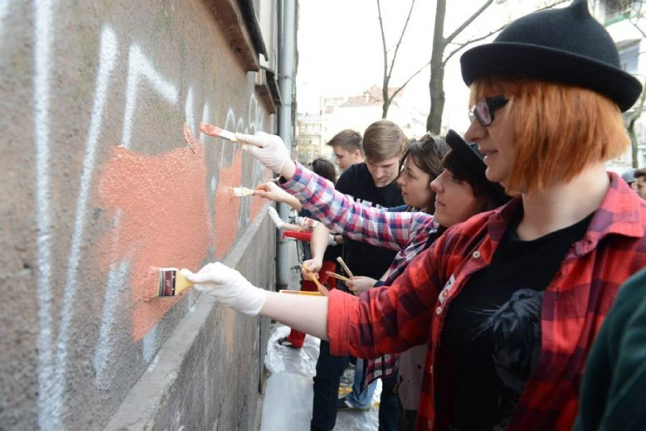 Akcja Hejt Stop! w Poznaniu